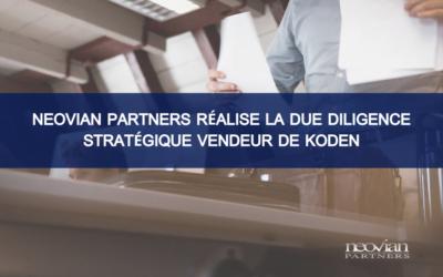 Neovian Partners réalise la Due Diligence Stratégique Vendeur de Koden, spécialiste français de la vente et du financement de solutions d'impression