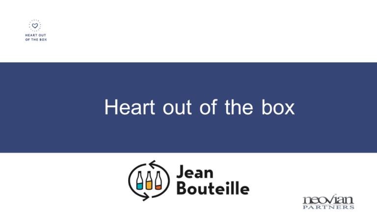 Heart out of the box : Jean Bouteille réalise le défi du 0 déchet