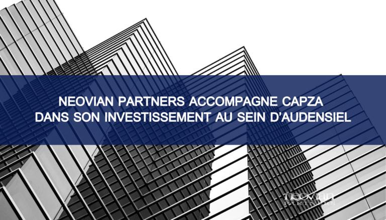 Neovian Partners accompagne CAPZA dans son investissement au sein d'Audensiel