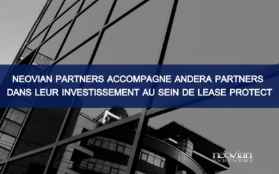 Neovian Partners accompagne Andera Partners dans leur investissement au sein de Lease Protect