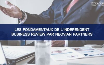 Les fondamentaux de l'Independent Business Review par Neovian Partners