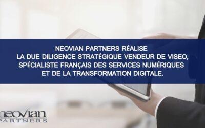 Neovian Partners completa lo Strategic Diligence Seller di VISEO, specialista francese in servizi digitali e trasformazione digitale, nell'ambito di un finanziamento Unitranche di 120 milioni di euro raccolti da BlackRock