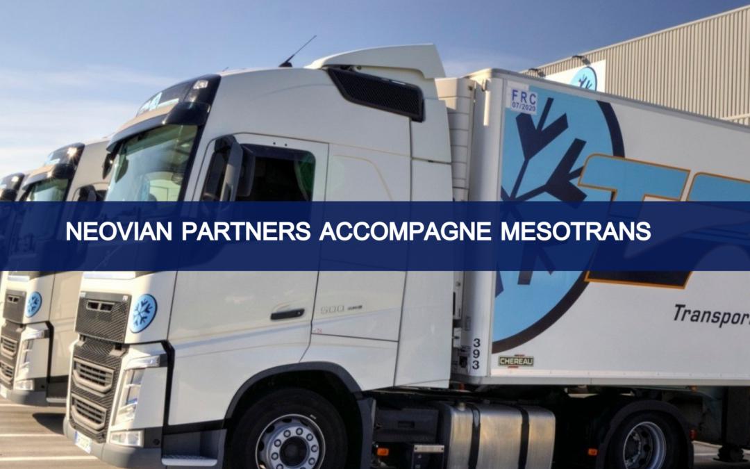 Neovian Partners accompagne Mesotrans dans la sortie d'UI Gestion et l'entrée de Société Générale Capital Partenaires et bpifrance à son capital